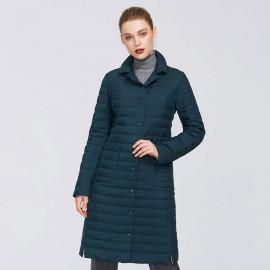 Демисезонное пальто женское больших размеров KD043-3