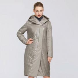 Пальто демисезонное женское больших размеров KD042