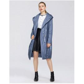 Пальто утепленное женское большие размеры KD042-3
