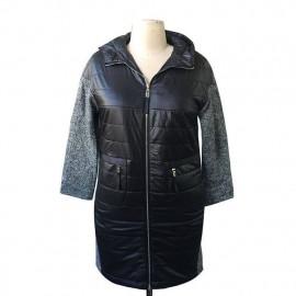 Пальто женское на весну для полных KD040-1