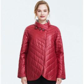 Женская куртка осень-весна больших размеров KD036-1