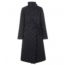 Длинное стеганое пальто женское KD035-1