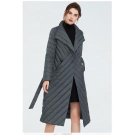 Женское пальто весна-осень KD035-3