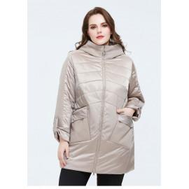 Демисезонная куртка для женщин больших размеров KD034