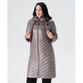 Пальто весна для полных женщин KD033