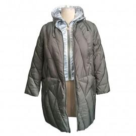Женская зимняя куртка больших размеров KD032-1