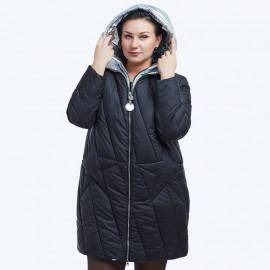 Женская зимняя куртка больших размеров KD032