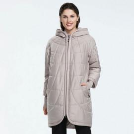Женская куртка больших размеров весна KD031-1