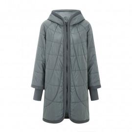 Женская куртка больших размеров весна-осень KD031