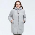 Женская куртка на осень большие размеры KD030-1