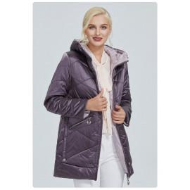 Куртка демисезонная женская больших размеров KD027-2