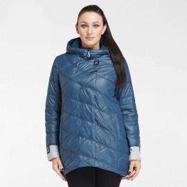 Куртка женская демисезонная удлиненная для полных KD026-2