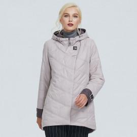 Осенняя куртка женская больших размеров KD026-1