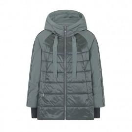 Куртка женская осенняя утепленная большого размера KD025-3