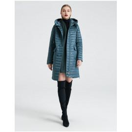 Женское пальто весна-осень с капюшоном KD019-4