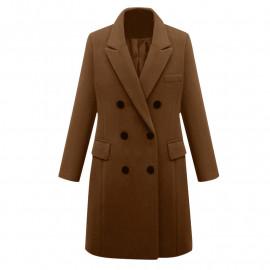 Пальто шерстяное женское KD017-3