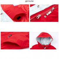 Белая длинная куртка женская KD006-1