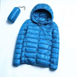 Синяя куртка женская демисезонная KD005-1