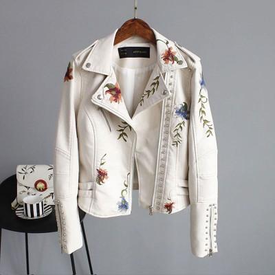 Белая косуха женская KR008-1
