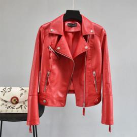 Красная косуха женская KR007-2