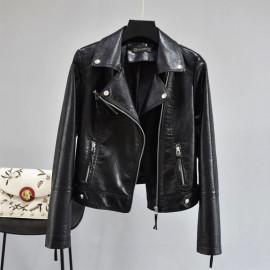 Куртка косуха черная женская KR007