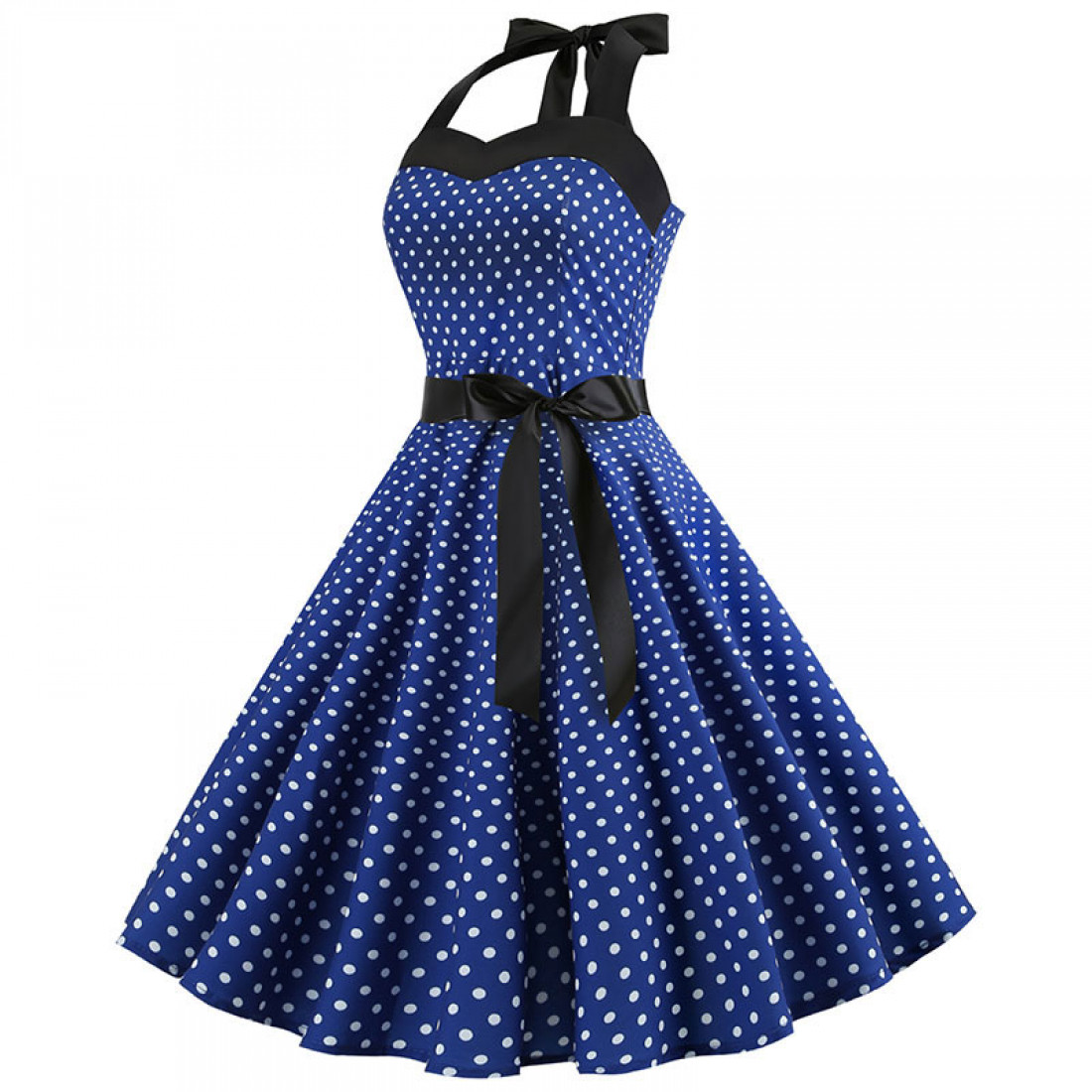 Платья Синие Ретро