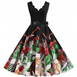 Женское летнее платье для полных MN013-7