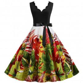Летнее платье большого размера MN013-1