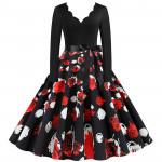 Женское платье в винтажном стиле MN009-15