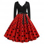 Платье в стиле Стиляги для женщин MN009-10