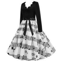 Женское платье в ретро стиле MN009