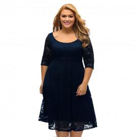 Женское нарядное платье размера плюс MN30-1