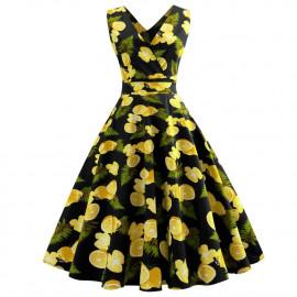Женское летнее платья для полных дам MN203-1
