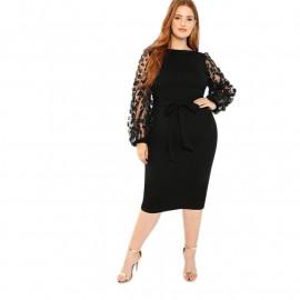 Вечернее платье для полной дамы MN141