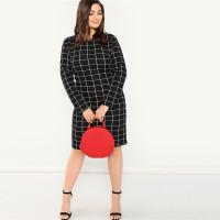 Женское офисное платье ММ140