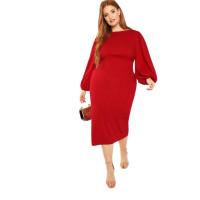 Женское платье карандаш размер плюс ММ137