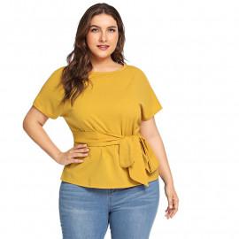Женская блузка размера плюс ММ57