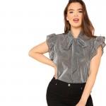 Женская блузка размера плюс ММ50