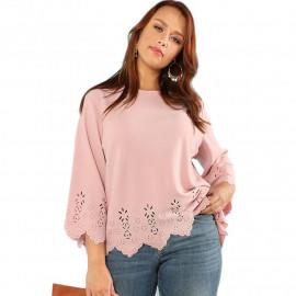 Женская блузка размера плюс ММ49
