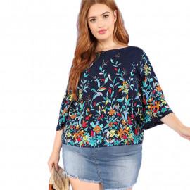 Женская блузка размера плюс ММ47