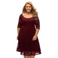 Женское платье размер плюс EММ30