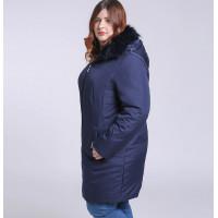 Женская зимняя куртка больших размеров ММ223-1
