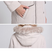 Женская зимняя куртка больших размеров ММ220-1