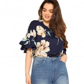 Женская блузка размера плюс ММ55