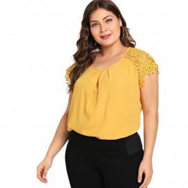 Женская блузка размера плюс ММ53