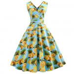 Женское летнее платье для полных дам MN203