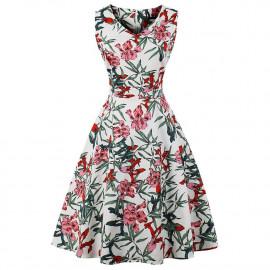 Летнее платье большие размеры MN202-8