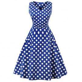 Женское летнее платье размера плюс ММ202-5