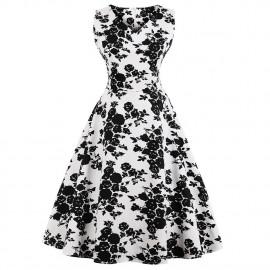 Летнее платье для пышных дам MN202-4