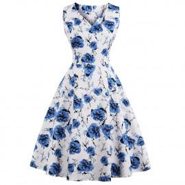 Летнее платье размера плюс MN202-2